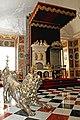 Rosenborg Castle - thrones and silver lion.jpg