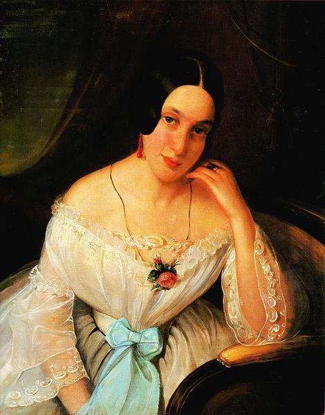 File:Rosenthal Női arckép 1844.jpg