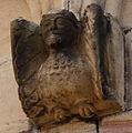 Rosheim, Romanesque relief of harpy.jpg