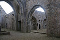 Rosserk Friary View from Nave into Transept and Choir 2013 09 14.jpg