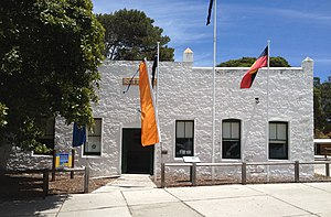 Colonial buildings of Rottnest Island - Salt Store
