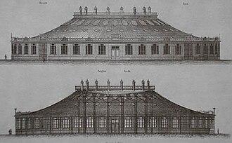 All-Russia Exhibition 1896 - Image: Rotunda by Vladimir Shukhov Nizhny Novgorod 1896