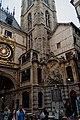 Rouen - Rue du Gros-Horloge - View South on the Fountain 'Alphée et Aréthuse' 1743.jpg