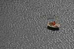 Round boats (Coracles) in Krishna river at Srisailam 02.jpg
