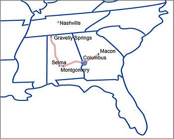 Battle Of Columbus 1865 Wikipedia