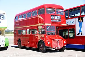 Routemaster RM1699 (699 DYE), 2010 North Weald bus rally.jpg