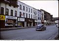 Row of shops at Yonge and Yorkville circa 1975 Toronto.jpg