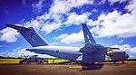Royal Australian Air Force Boeing C-17 Globemaster III (A41-207) at Christmas Island Airport (3).jpg