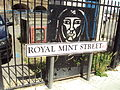 Royal Mint Street sign - DSC06954.JPG
