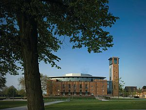 Bennetts Associates - Royal Shakespeare Theatre in Stratford-upon-Avon