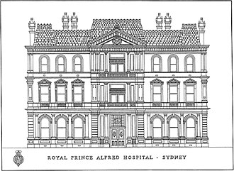 Royal Prince Alfred Hospital - Royal Prince Alfred Hospital - Administration Building