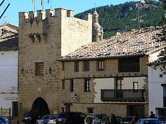 Gúdar-Javalambre - Old buildings in Rubielos de Mora.