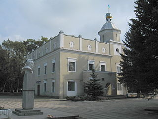 Rudky City in Lviv Oblast, Ukraine