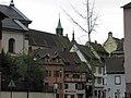 Rue de la Grenouillère, église Saint-Matthieu (Colmar).JPG
