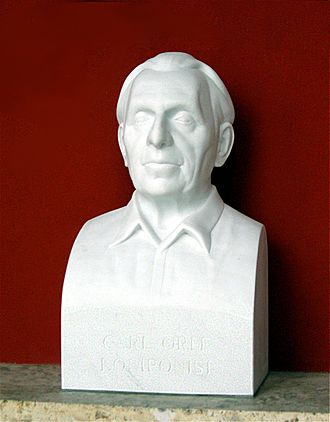 Carl Orff - Bust of Carl Orff in the Munich Hall of Fame (2009)