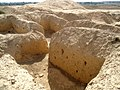 Ruins near the ziggurat of Kish, Tell al-Uhaymir, Babylon Governorate, Iraq.jpg