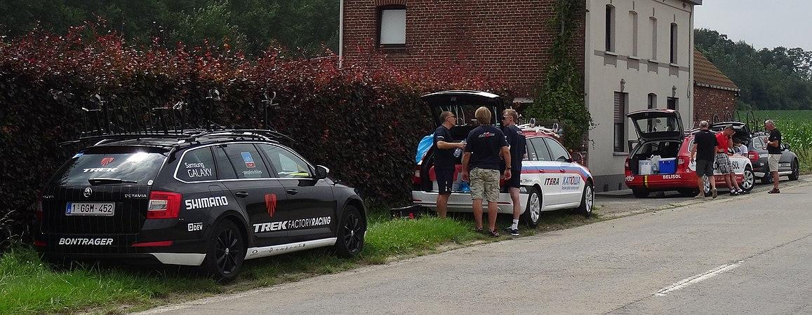 Rumillies (Tournai) - Tour de Wallonie, étape 1, 26 juillet 2014, ravitaillement (A01).JPG