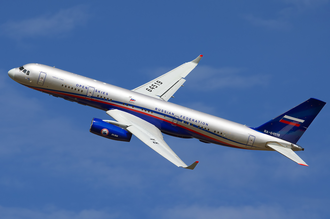 Treaty on Open Skies - Tupolev Tu-214ON of the Russian Air Force.