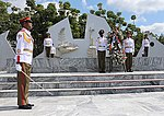 Russian Defence Minister visited tank division Revolutionary Armed Forces of Cuba and laid a wreath to the Soviet soldiers-internationalists memorial 01.jpg