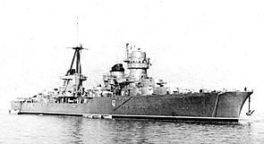Russian cruiser Kerch 1950.jpg