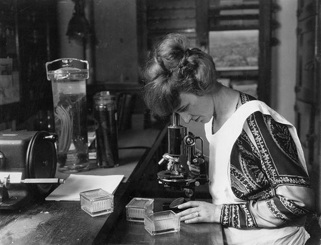 Women with microscopes: Ruth Colvin Starett McGuire