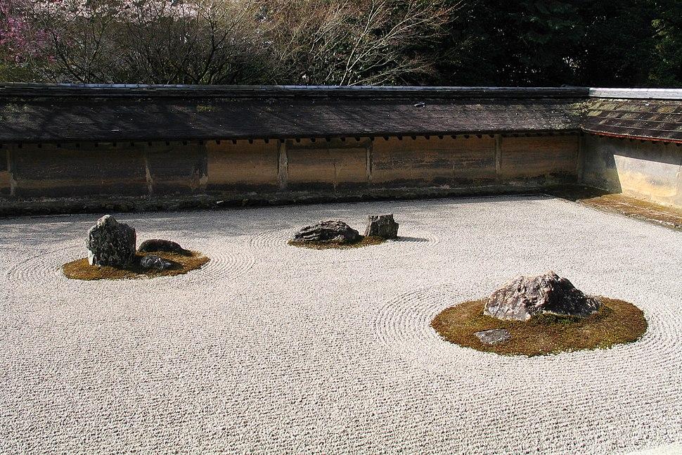 RyoanJi-Dry garden
