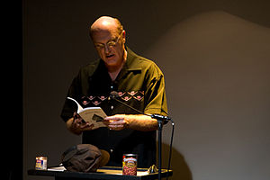 S.A. Griffin - S.A. Griffin speaking at Beyond Baroque Literary Arts Center, Los Angeles