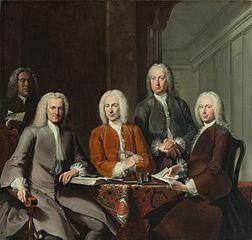 De regenten van het Oudezijds Huiszittenhuis