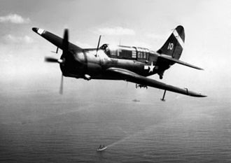 USS Hancock (CV-19) - Curtiss SB2C-3 Helldiver from USS Hancock (CV-19) off Iwo Jima