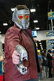 Star-Lord jako cosplay