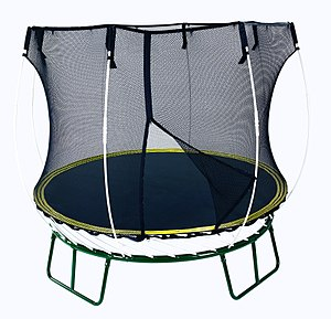 English: Springfree SF40 trampoline