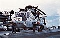 SH-3D of HS-4 on USS Kitty Hawk (CV-63) c1974.jpg