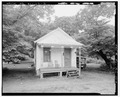 SHOT GUN HOUSE, EXTERIOR NORTH. - 355 Third Street (House), Thomas, Jefferson County, AL HAER ALA,37-THOS,5-2.tif