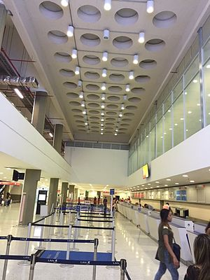 Camilo Daza International Airport - Main Hall of the airport