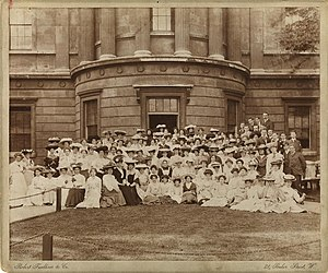 Slade School of Fine Art - Students at the Slade in 1905