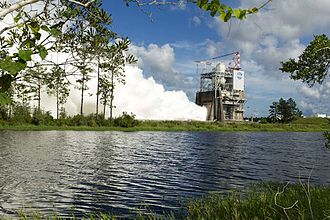 Space Launch System - Image: SLS Engine Test