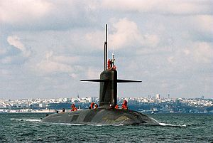 Triomphant-class submarine - Image: SNLE NG