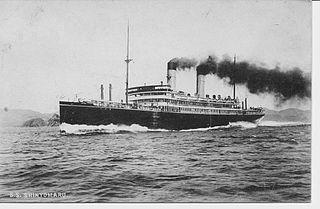 SS <i>Shinyō Maru</i> (1911) Japanese passenger liner