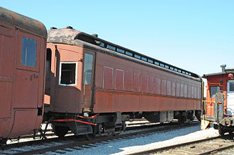 Railroad Museum of Pennsylvania - Steel Passenger Coach No. 1650