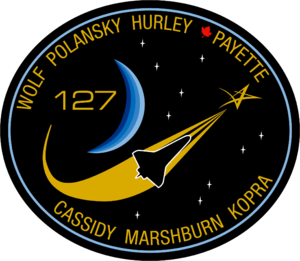 Douglas G. Hurley - Image: STS 127 patch