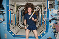 STS-133 ISS-26 Cady Coleman with Message in a Bottle.jpg