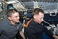 STS-135 Rex Walheim and Chris Ferguson on the forward flight deck.jpg