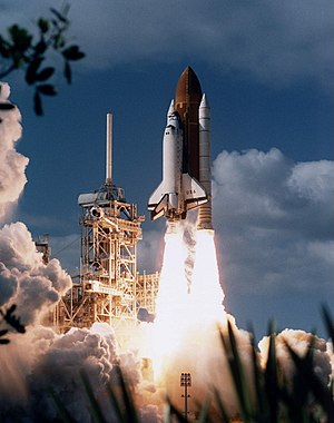 STS-80 - Columbia launches on STS-80