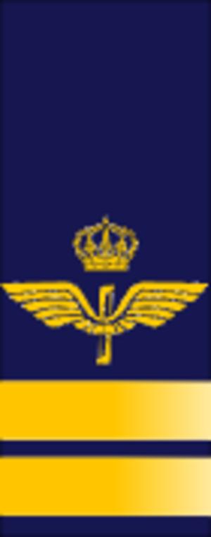 Kapten - Image: SWE Airforce kapten