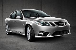 Saab 9-3 Compact executive car