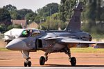 Saab Gripen - RIAT 2013 (9504288346).jpg