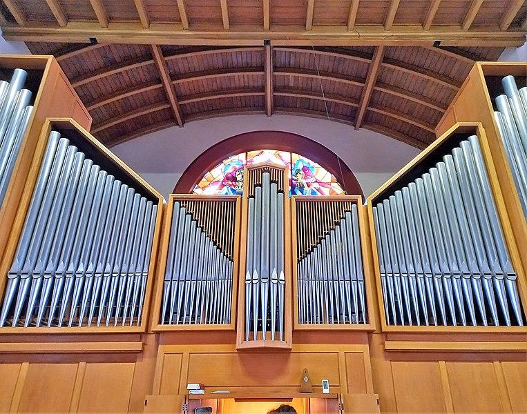 Datei:Saarbrücken-Burbach, Matthäuskirche (Ott-Orgel, Prospekt) (16).jpg