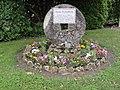 Saint-Cyr (Vienne) monument René Plourde, Nouvelle-France.JPG