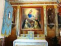 Saint-Rivoal 10 Eglise Autel latéral côté nord.JPG