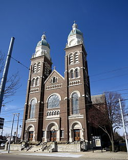 Saint Mary Catholic Church (Dayton, Ohio) - exterior.JPG